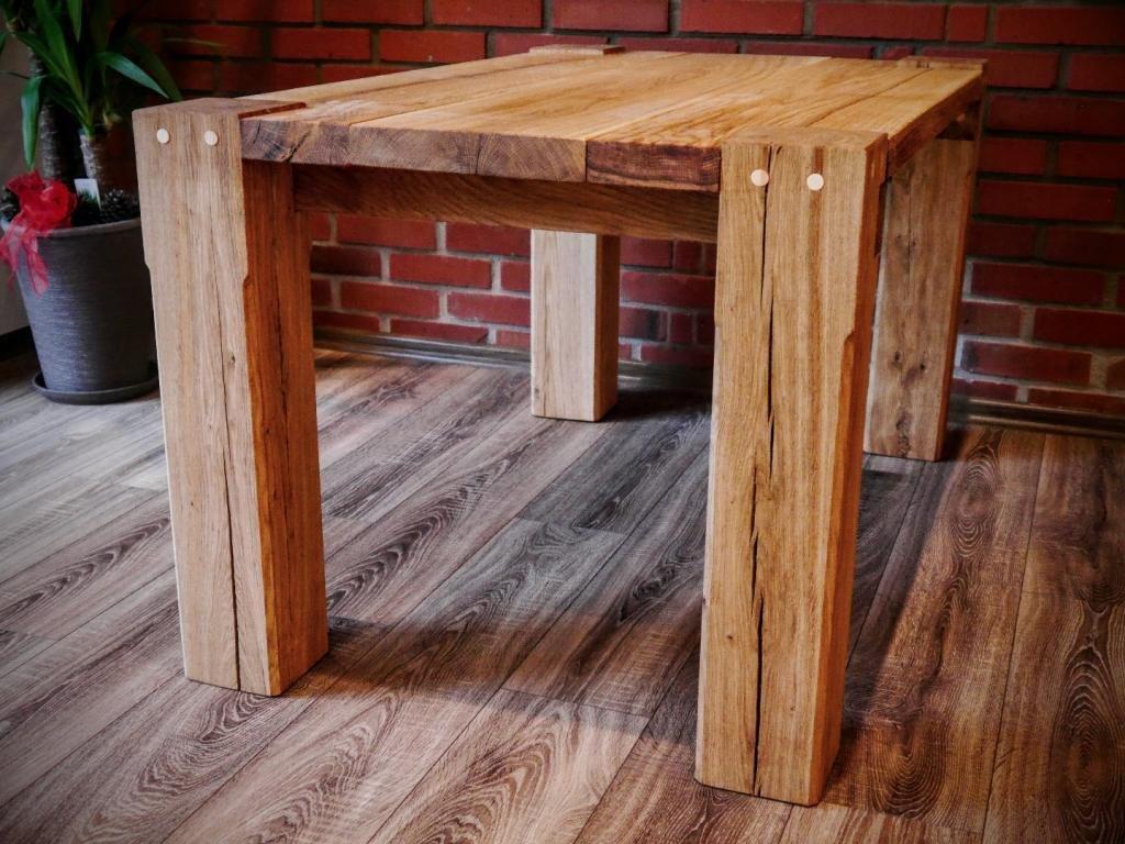 Stół Dębowy Ii Meble Ogrodowe Góralskie Do Pubu Restauracji